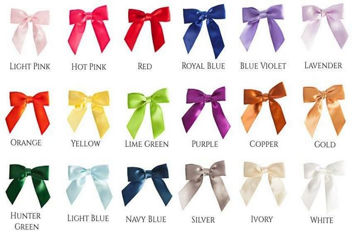Optional Bow Colors