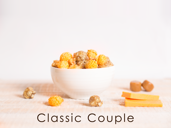 Classic Couple (Caramel & Cheddar Mix)