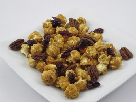 Caramel with Pecans & Cranberries