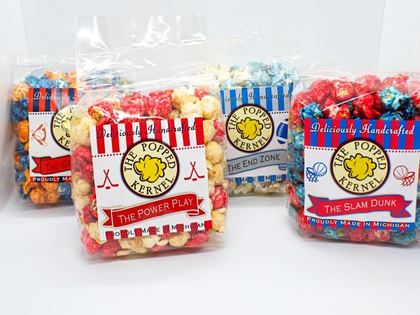 Sports Themed Flavors – The Popped Kernel