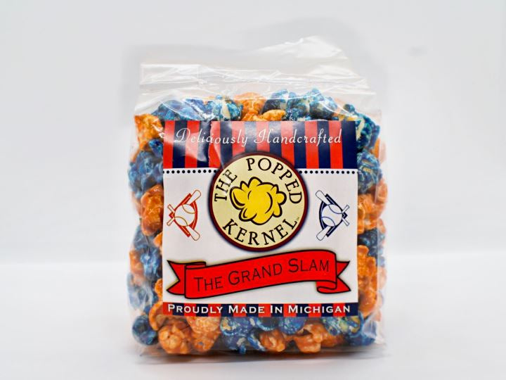 Detroit Tigers Team Colors Popcorn