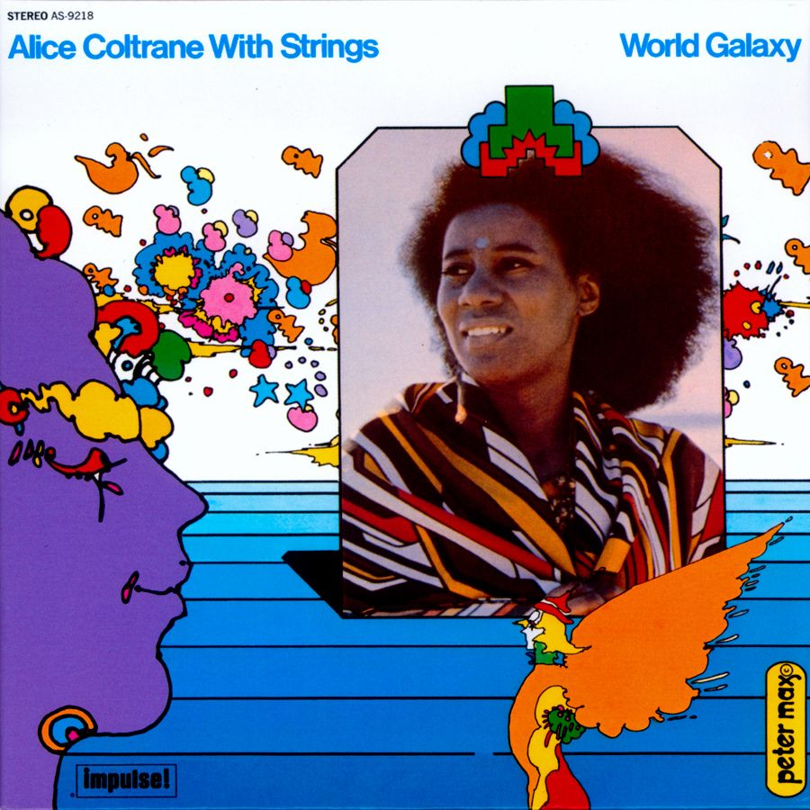 ALICE COLTRANE WITH STRINGS ‎: WORLD GALAXY [ ABC Impulse! ]