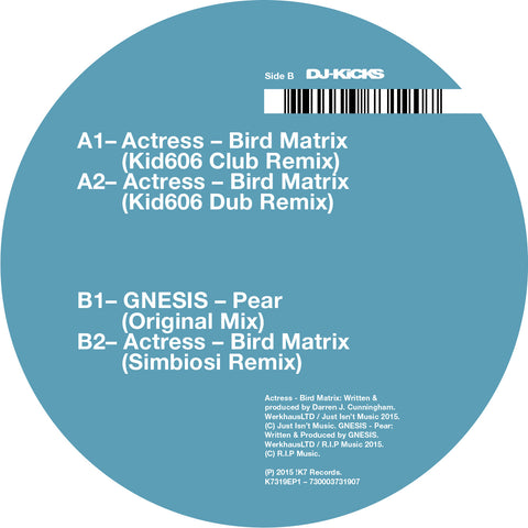 ACTRESS : BIRD MATRIX REMIXES [ K7 ]