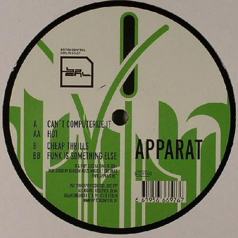 APPARAT : CAN'T COMPUTERIZE  [ Bpitch ]