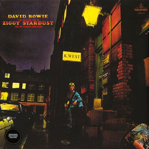 DAVID BOWIE : THE RISE AND FALL OF ZIGGY STARDUST [Parlophone]
