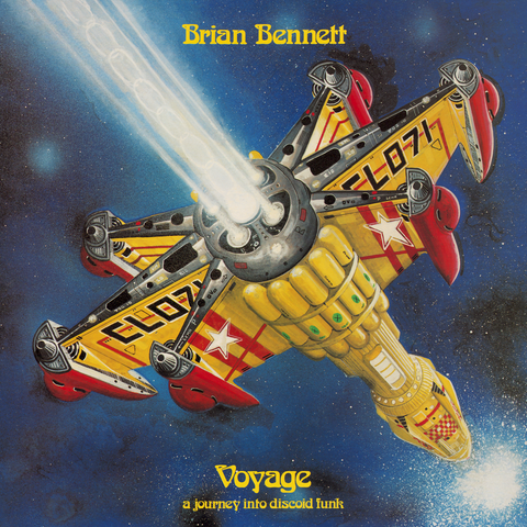 BRIAN BENNET : VOYAGE (A JOURNEY INTO DISCOID FUNK) [ Isle Of Jura ]
