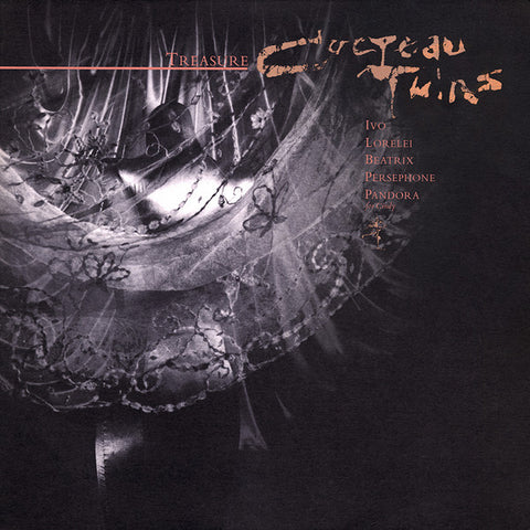 COCTEAU TWINS : TREASURE [ 4AD ]