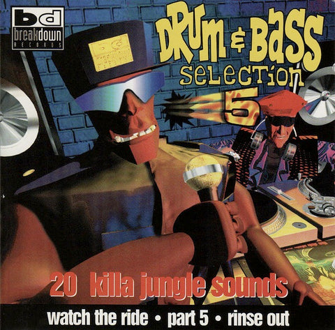 DRUM & BASS SELECTION 5 : VARIOUS ARTISTS [Breakdown Records]