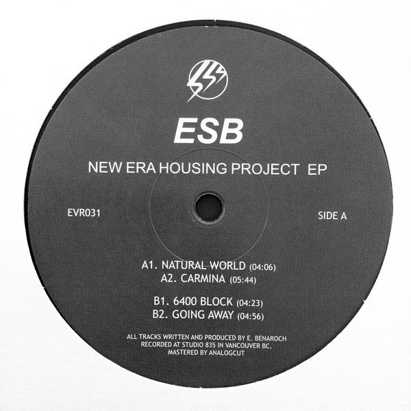 ESB New Era Housing Project EP Echovolt Records