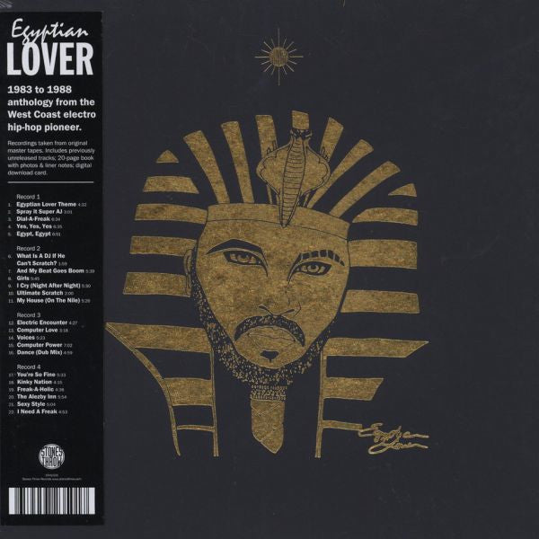 Egyptian Lover 4LP Box Stones Throw