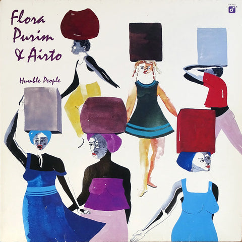 FLORA PURIM & AIRTO : HUMBLE PEOPLE [Concord Jazz]