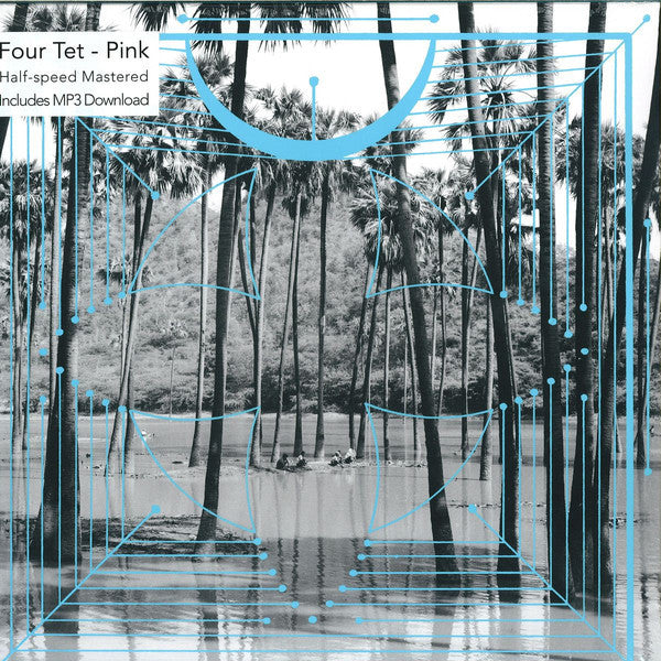 Four Tet Pink Text