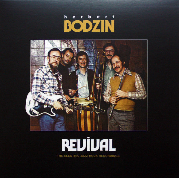 Herbert Bodzin The Electric Jazz Rock Recordings Revival
