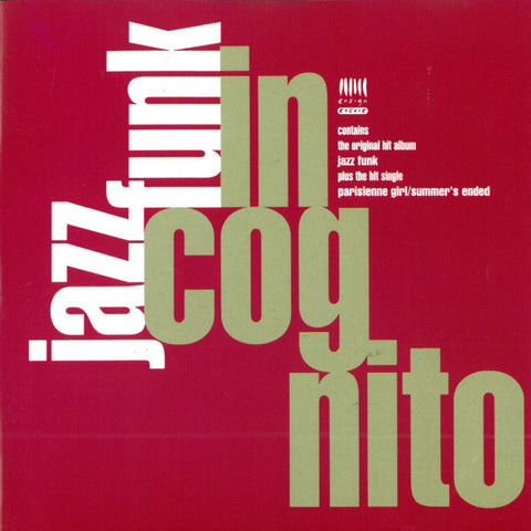 INCOGNITO : JAZZ FUNK [Ensign]