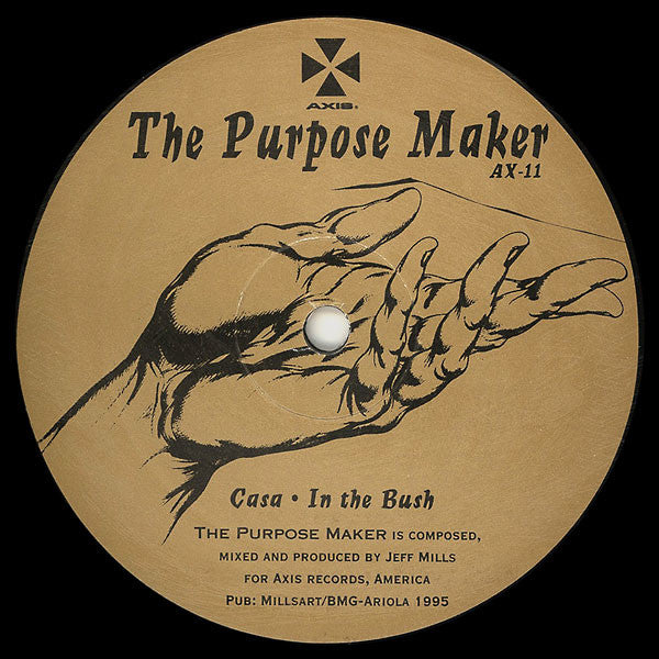 Jeff Mills Purpose Maker Axis