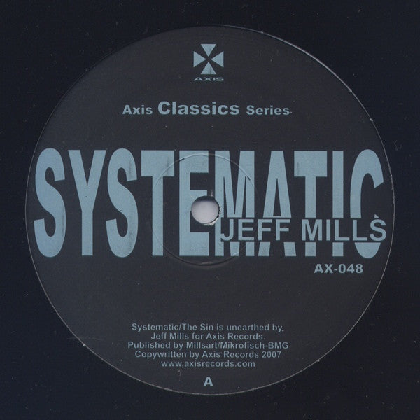 Jeff Mills Systematic Axis