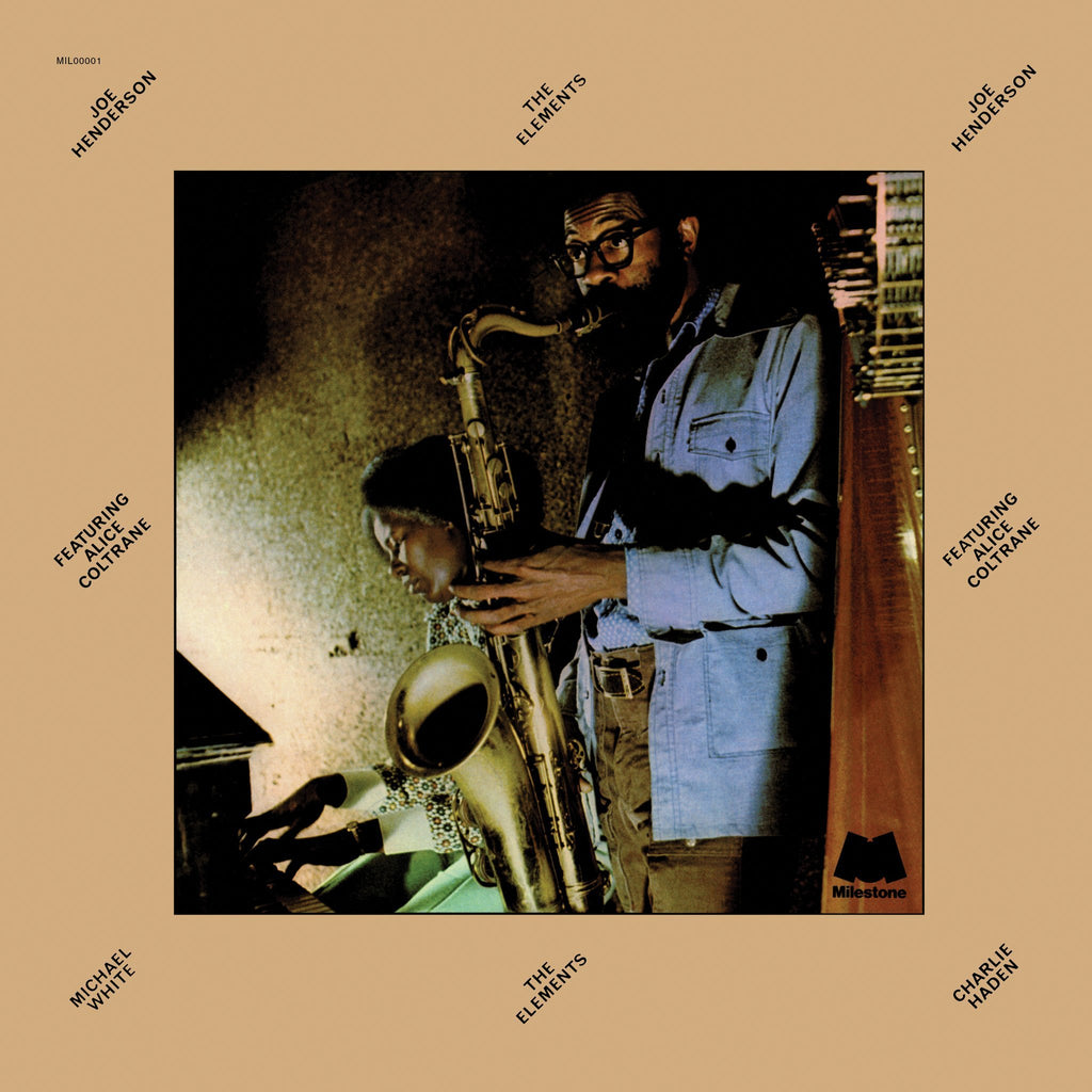 JOE HENDERSON Feat. ALICE COLTRANE : THE ELEMENTS [ Milestone / Preorder ]