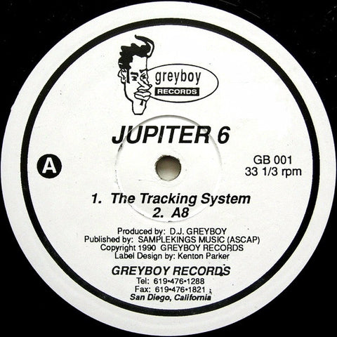 JUPITER 6 : THE TRACKING SYSTEM [ Greyboy ]