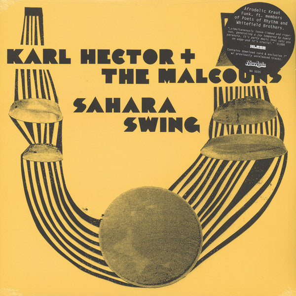 Karl Hector Malcouns Sahara Swing Deluxe Reissue Now Again