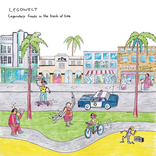 Legowelt Legendary Freaks In The Trash Of Time Clone West Coast