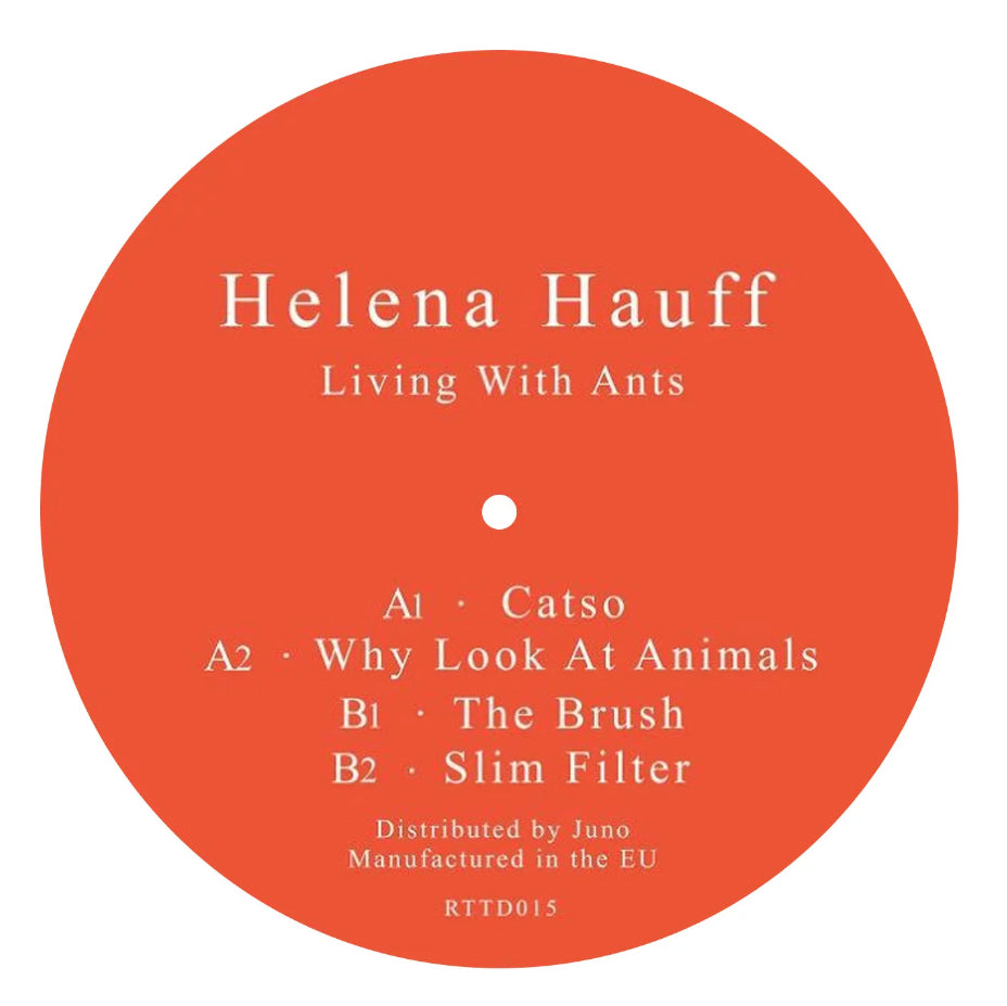 HELENA HAUFF : LIVING WITH ANTS [ Return To Disorder ]
