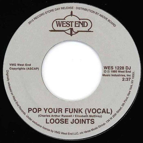 Loose Joints Arthur Russell Pop Funk West End