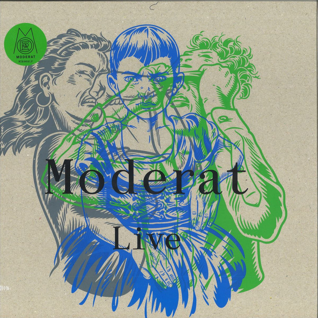 MODERAT : LIVE DELUXE BOX EDITION [ Monkeytown ]