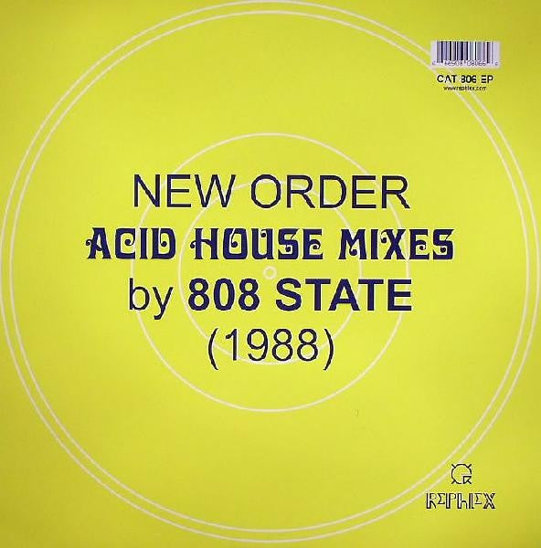 New Order Acid House Remixes 808 State