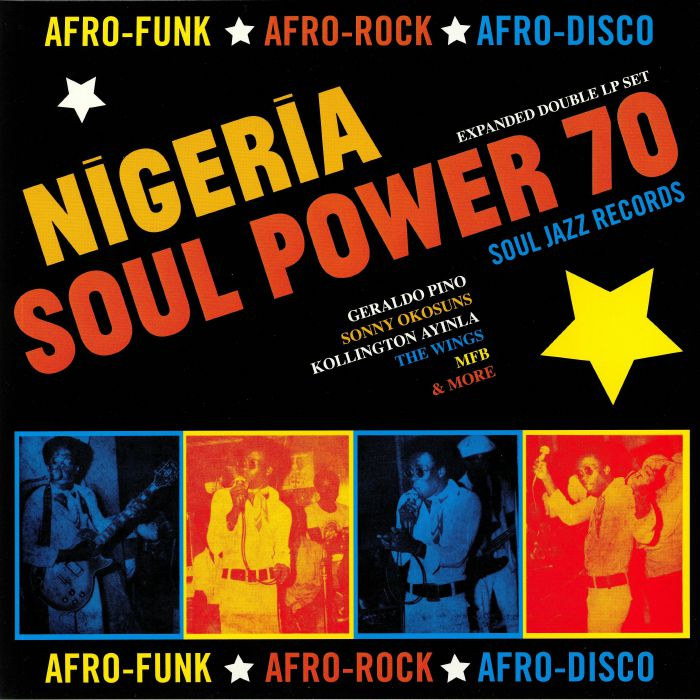 NIGERIA SOUL POWER 70 : VARIOUS ARTISTS [ Soul Jazz Records ]