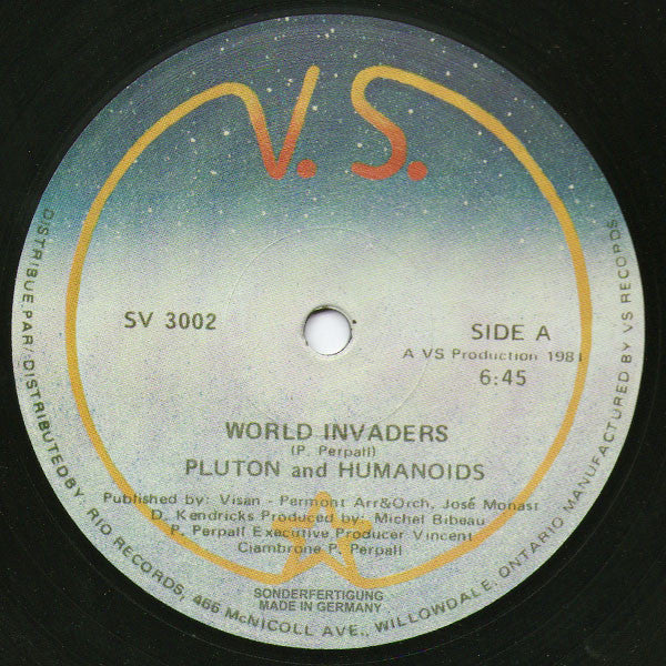 Pluton & Humanoids World Invaders Private