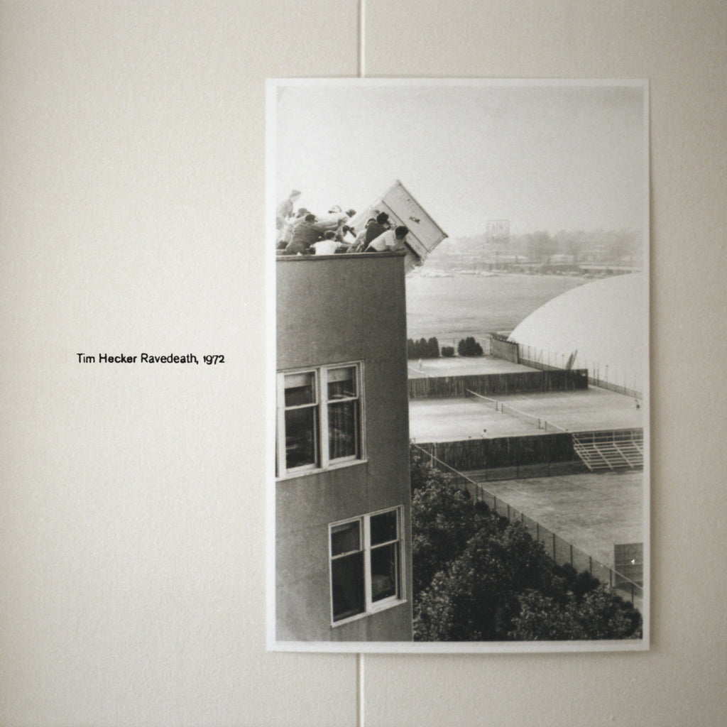 TIM HECKER :‎ RAVEDEATH, 1972 [ Kranky ‎]