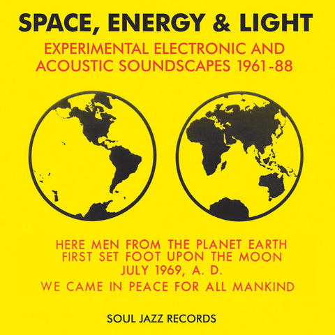 SPACE, ENERGY & LIGHT : VARIOUS ARTISTS [ Soul Jazz ]