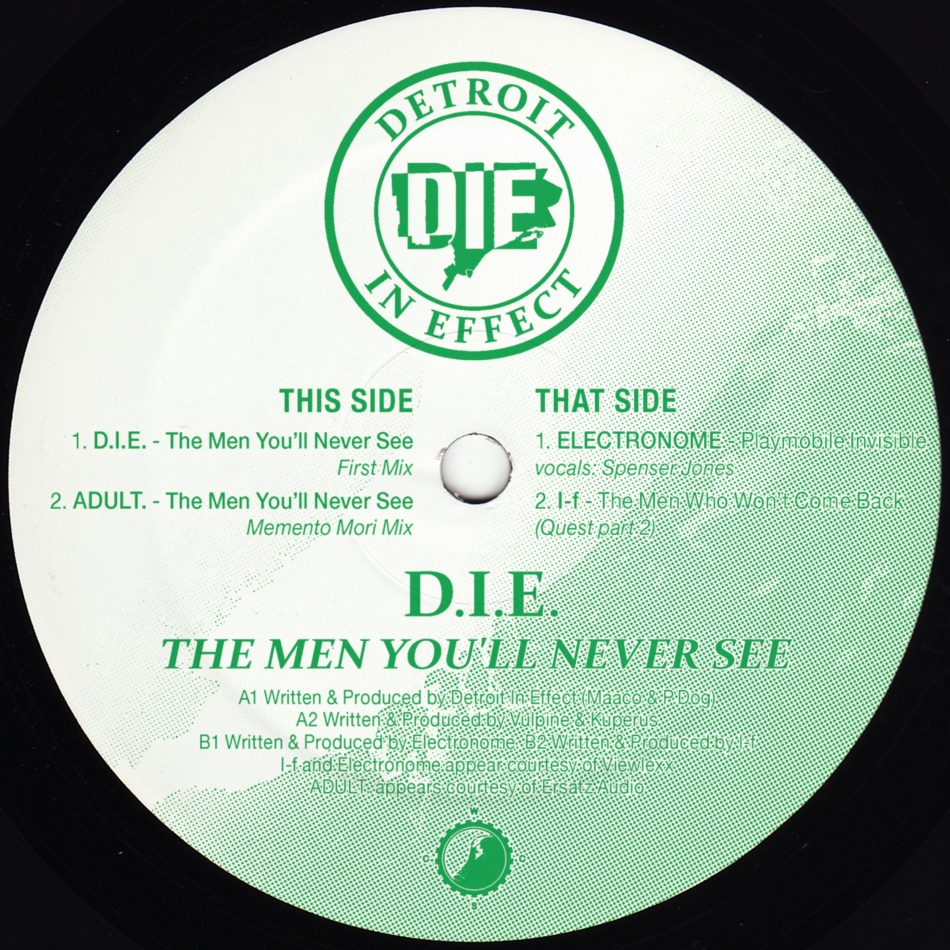 Detroit In Effect The Men You Ll Never See Remixes Clone