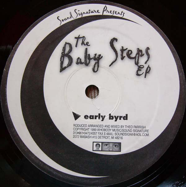 Theo Parrish Baby Steps Sound Signature