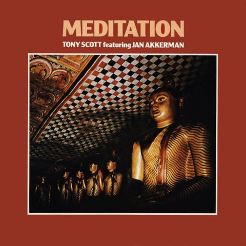 TONY SCOTT & JAN ACKERMAN : MEDITATION [Polydor]