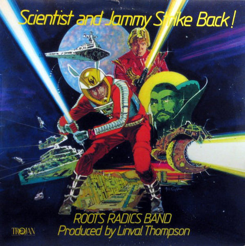 ROOTS RADICS BAND : SCIENTIST & JAMMY STRIKES BACK [ Trojan ]