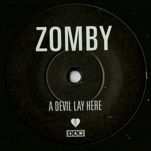 Zomby A Devil Lay Here Basquiat 4AD