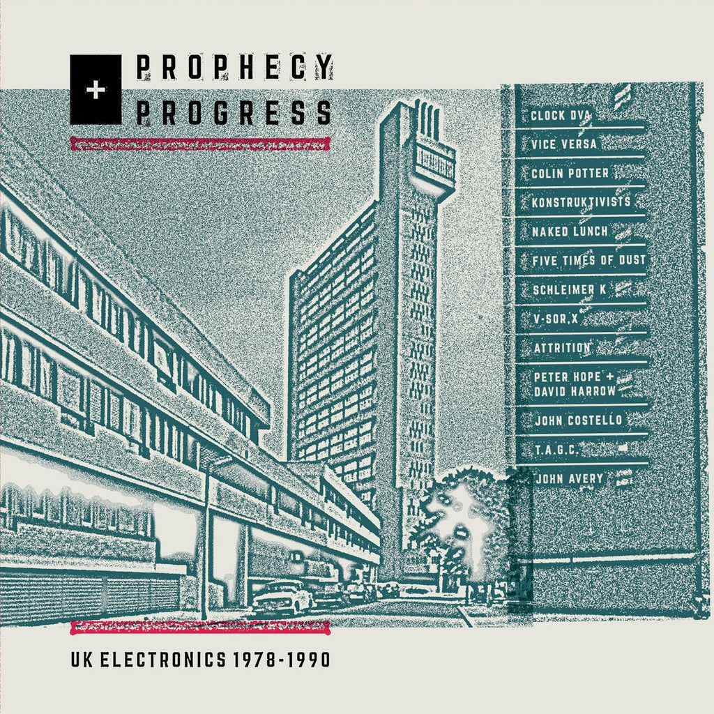PROPHECY + PROGRESS: UK ELECTRONICS 1978-1990 : VARIOUS [ Peripheral Minimal ]