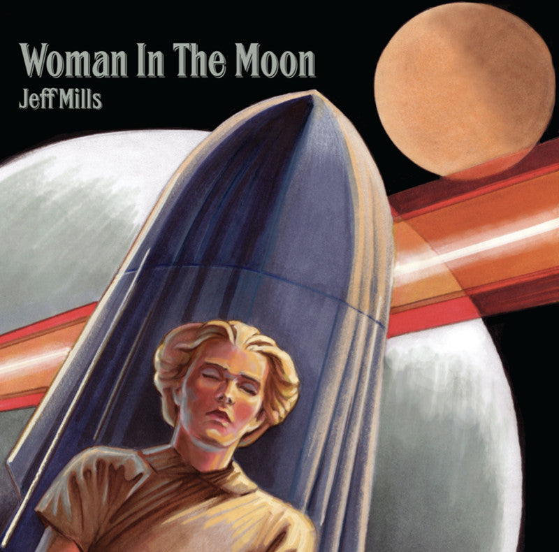Jeff Mills Woman in the Moon  3cd Axis
