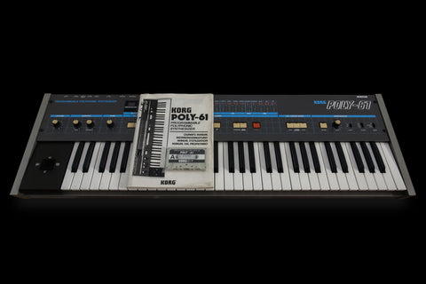 Korg Poly 61 Analog Synthesizer