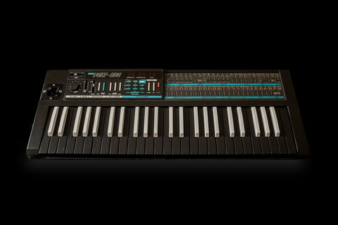 Korg Poly-800 Analog Synthesizer Reversed Keys