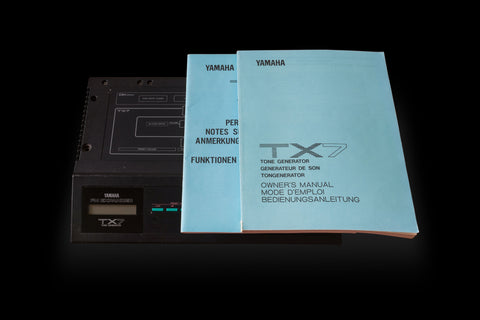 Yamaha Tx7 Desktop Synthesizer