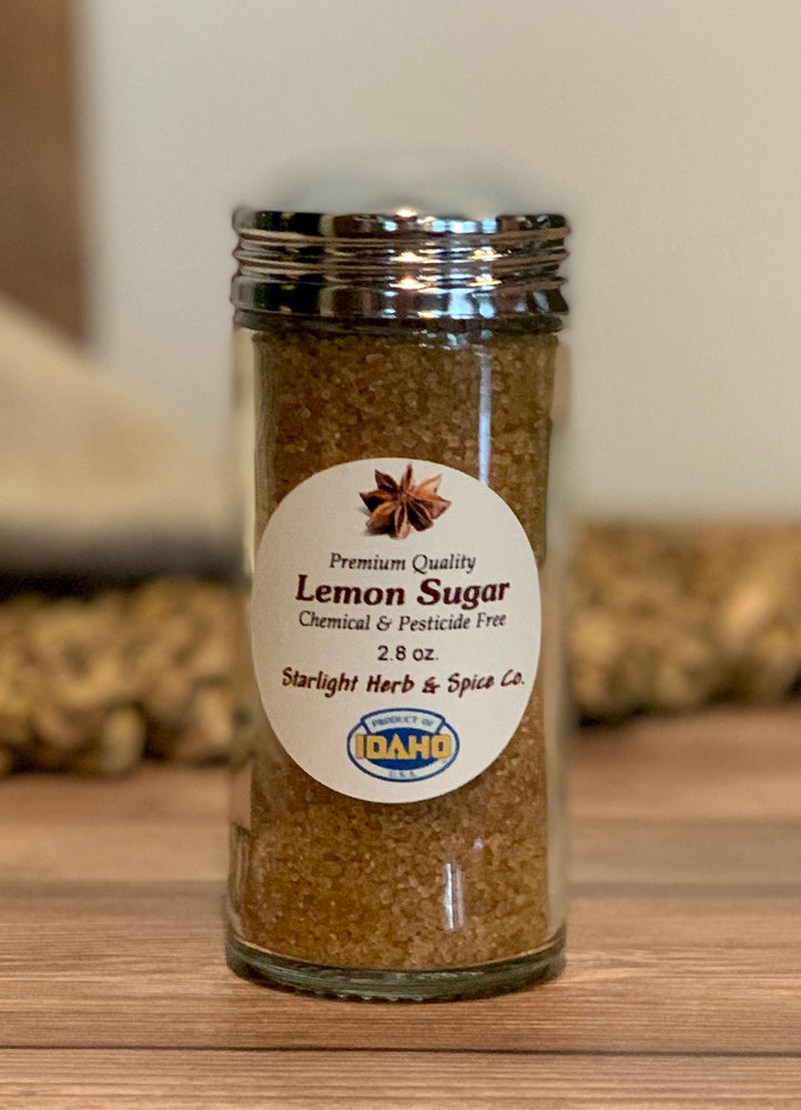 Load image into Gallery viewer, Lemon Sugar - Starlight Herbs & Spices