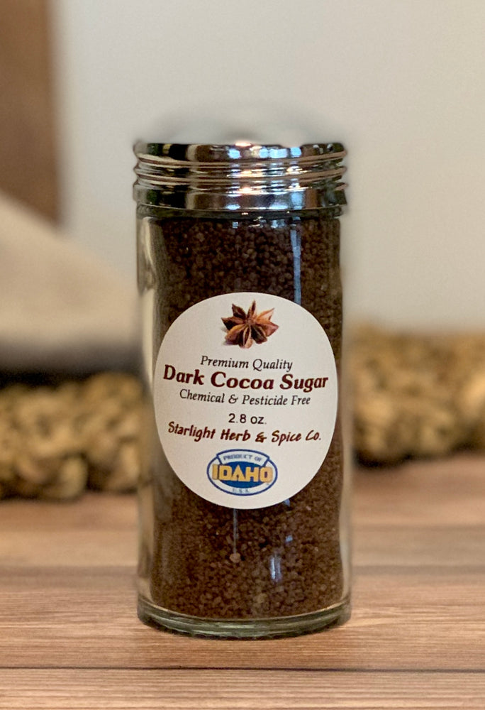 Dark Cocoa Sugar