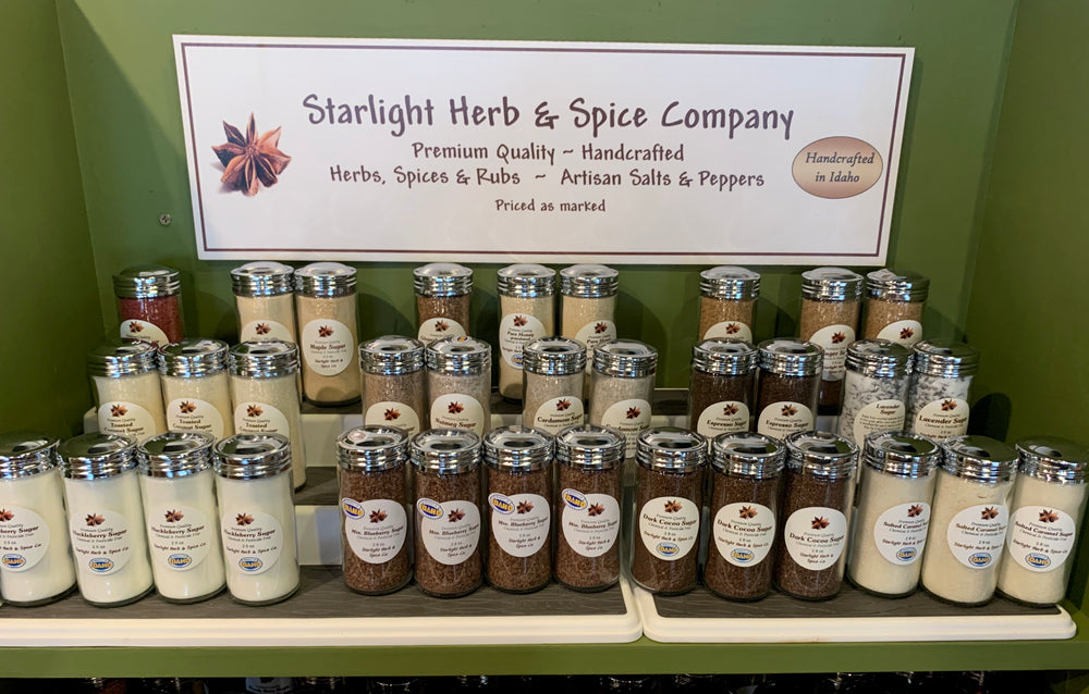 Load image into Gallery viewer, Salted Carmel Sugar - Starlight Herbs & Spices