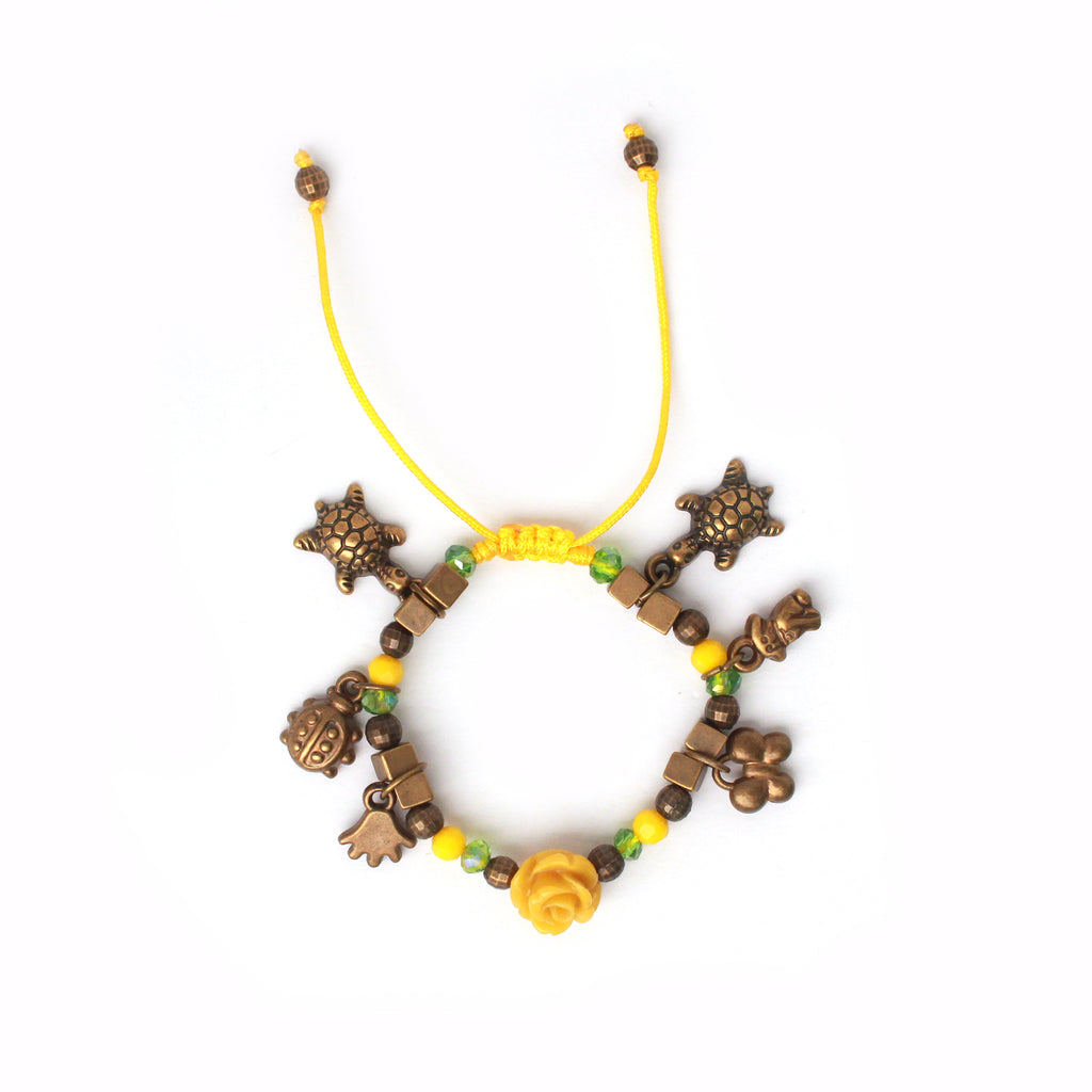 Luisa Rose Kids Bracelet in Yellow