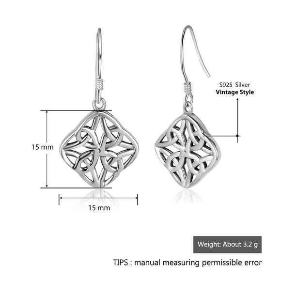 Silver Earrings #1202