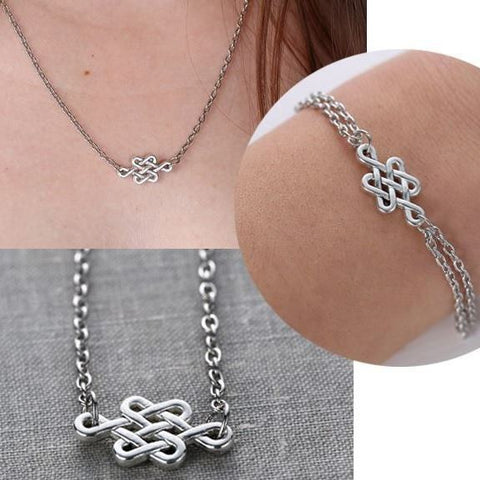 Celtic Knot Necklace / Bracelet