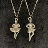 Pewter Dancer and Chain