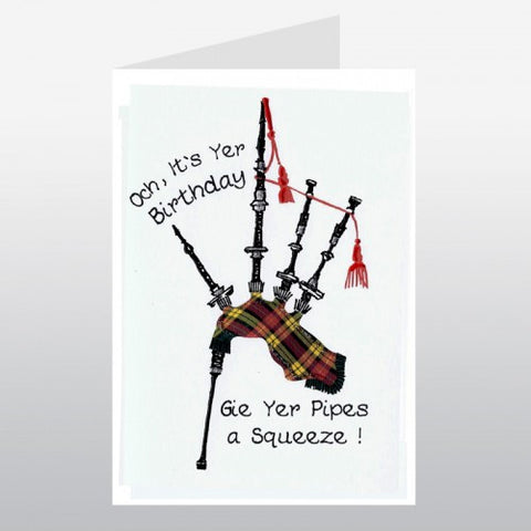 Birthday Card (Bagpipes)